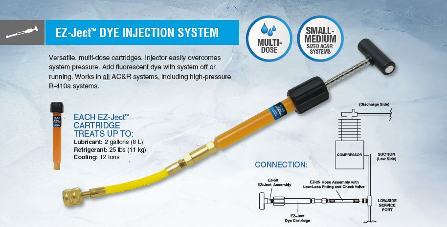 HVAC EZ-Ject Dye Injection System