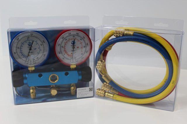 Javac R410a Gauge & Manifold Set