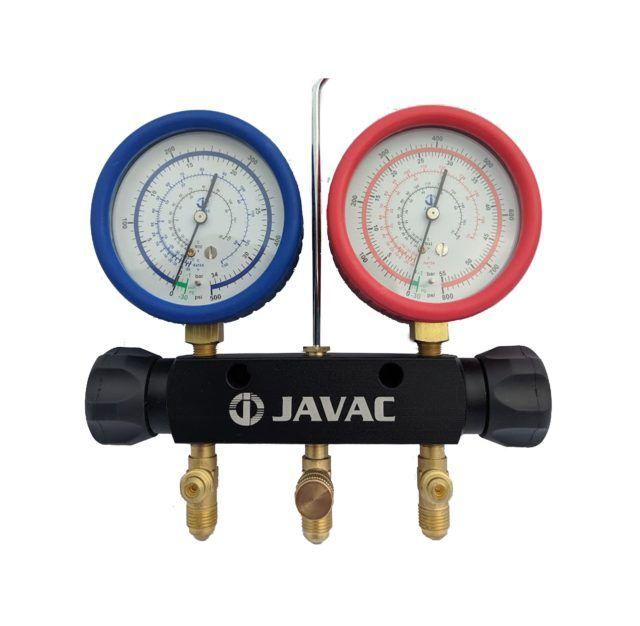 Javac 2 Valve R410a R32 Manifold Set Java66336 (1)