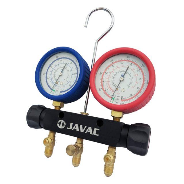 Javac 2 Valve R410a R32 Manifold Set Java66336 (5)