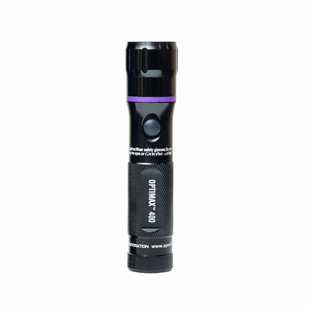 Spectroline OPTIMAX 400 UV flashlight