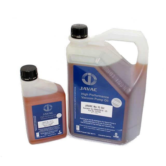 Javac 15 Oil Vacuum Pump Grade 1 Litre