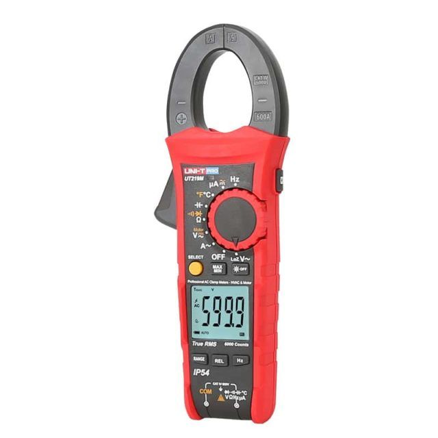 UT219M Professional Digital Clamp Meter with Motor Test