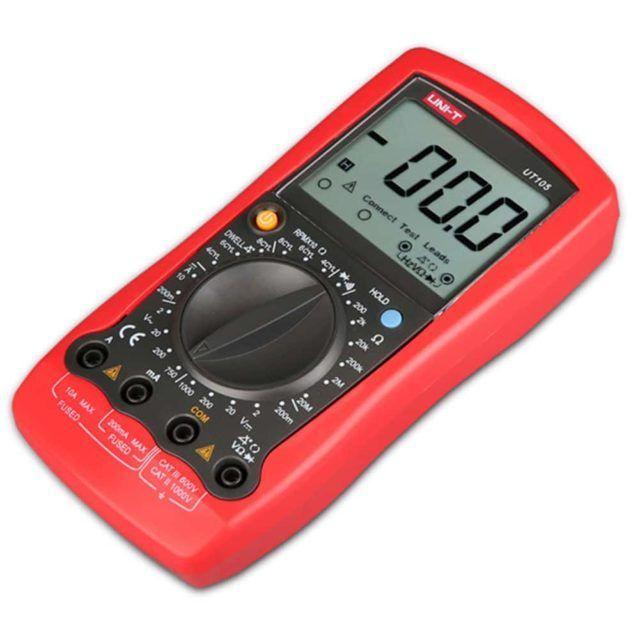 UT105 is a handheld digital multimeter (5)