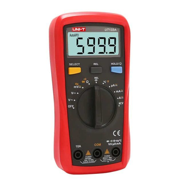 UT133A Palm Sized Digital Multimeter