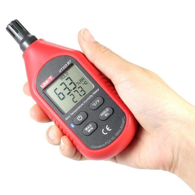UT333BT Mini Temperature Humidity Meter