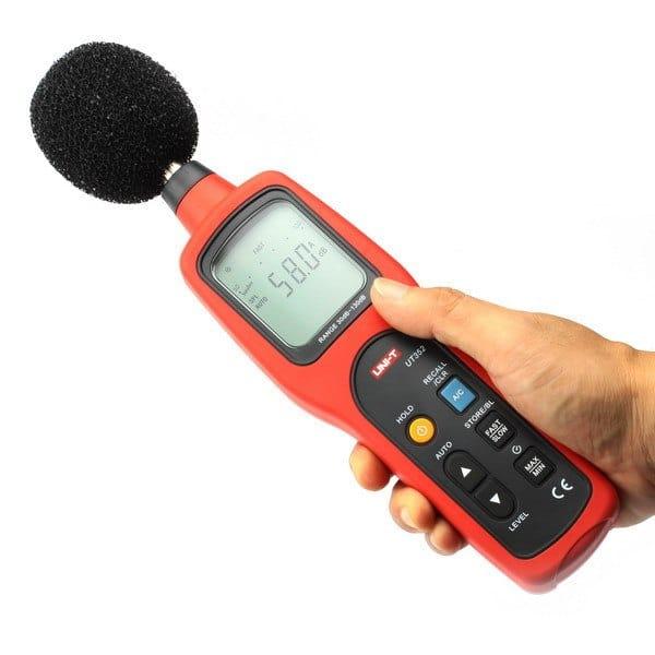UT352 Professional Sound Meter (4)