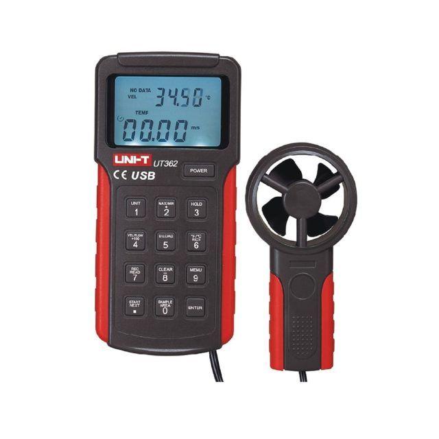 UT362 professional anemometer wind speed meter