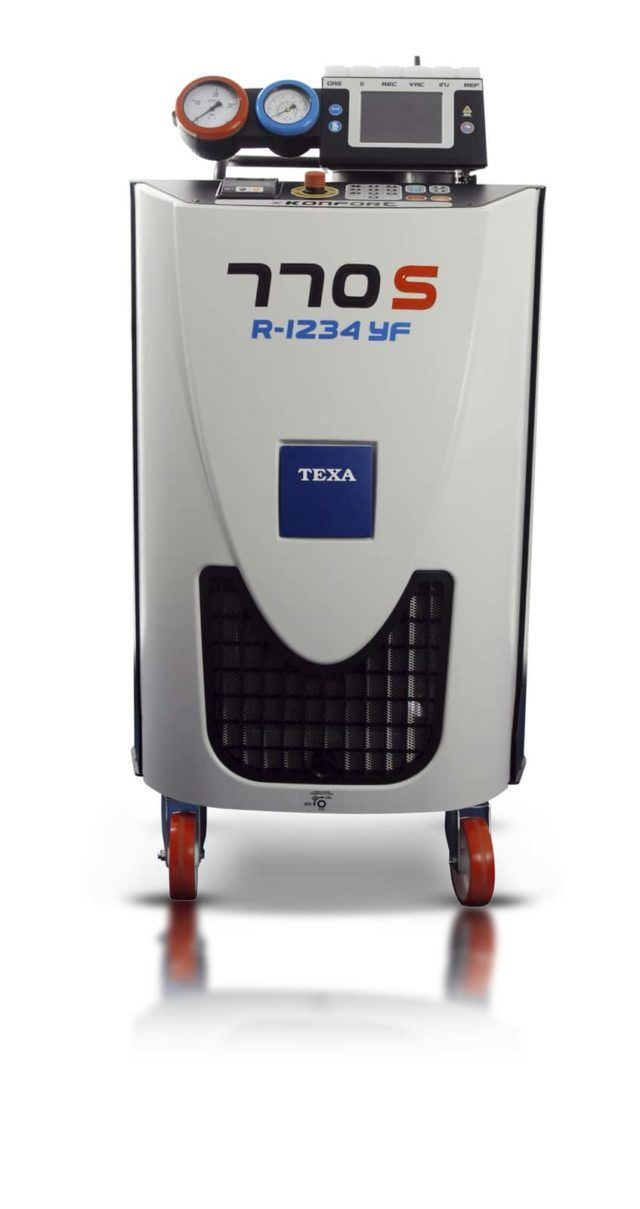 K770S Air Conditioning Station for Cars and Buses