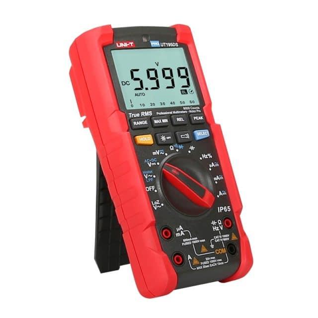 UT195DS Industrial Digital Multimeter LoZ Voltage Test