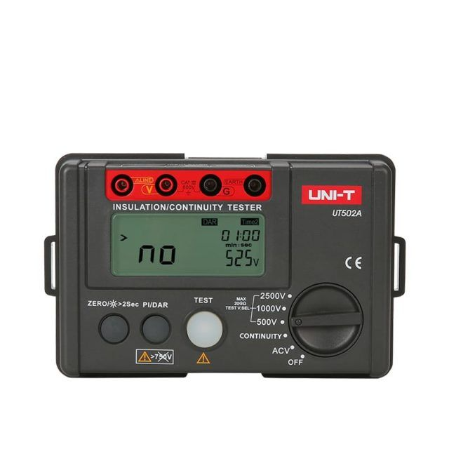 UT195DS Industrial Digital Multimeter LoZ Voltage Test