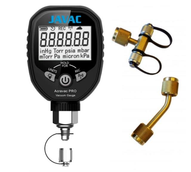 Acravac Pro Refrigeration Digital Vacuum Gauge (4)