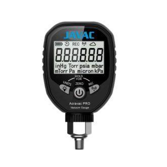 Acravac Pro Refrigeration Digital Vacuum Gauge