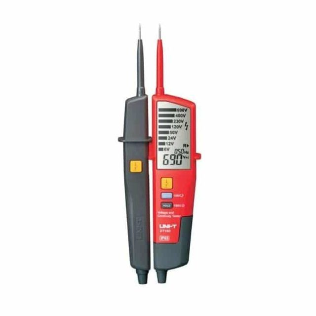UT18D Voltage And Continuity Tester LCD