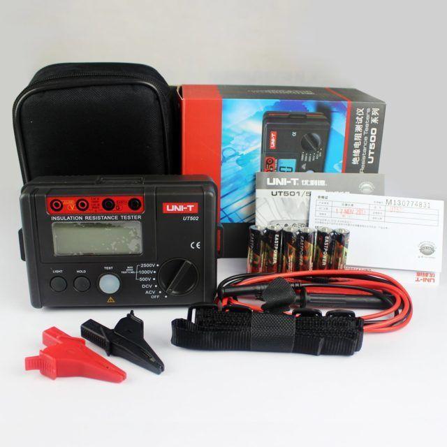 UT502A Insulation Resistance Tester 2500V (6)