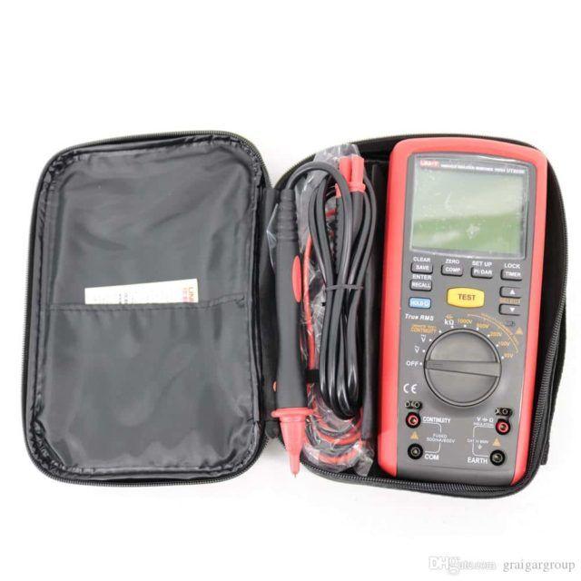 UT505 Insulation Resistance Tester Handheld New Zealand (1)