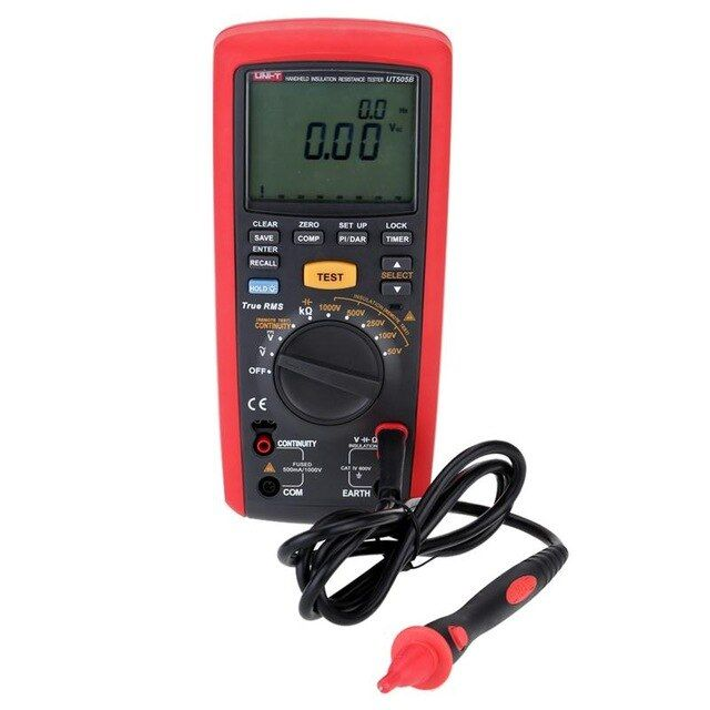 UT505 Insulation Resistance Tester Handheld New Zealand (10)