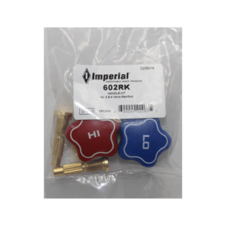 Imperial 602-RK Replacement Hi & Lo Knobs for 600 & 800 series 4 valve Manifolds NZ
