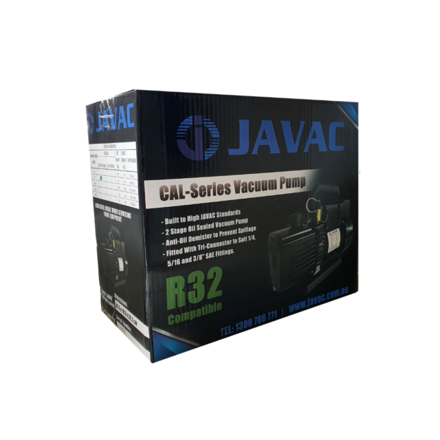 Javac R32 CAL Series Vacuum Pump For Refrigeration And Air Conditioning NZ