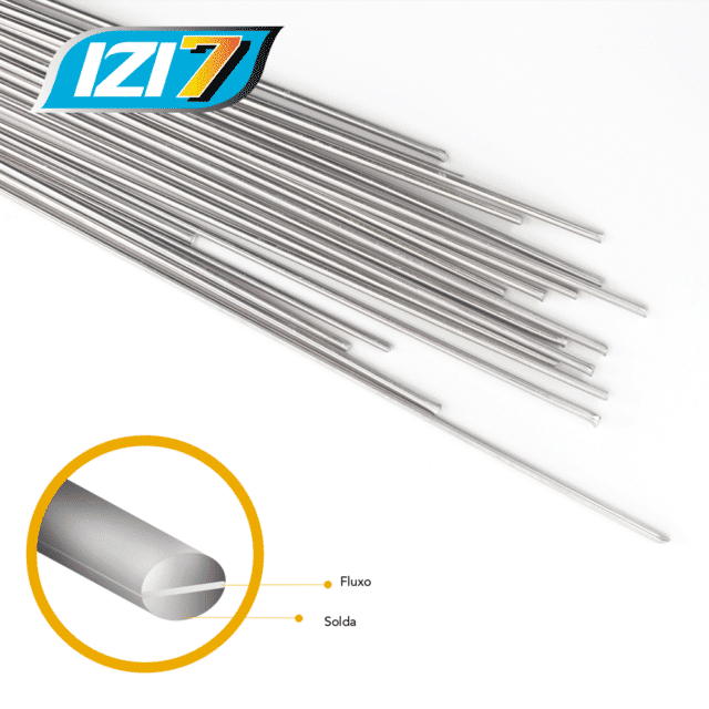 IZI 7 Welding And Brazing Rods For Aluminium + Aluminium (10) NZ 2