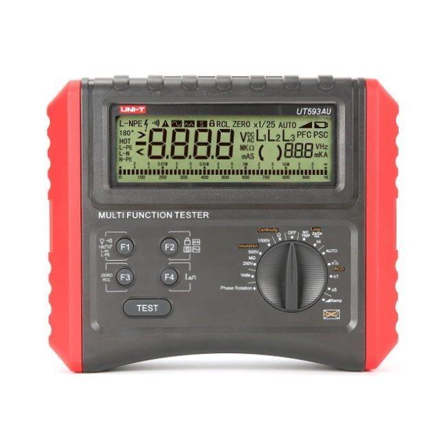 UT593AU Multifunction RCD Loop Tester