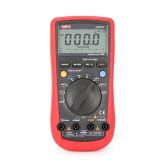 UT61C Auto-ranging AC/DC Digital Multimeter with PC Interface NZ
