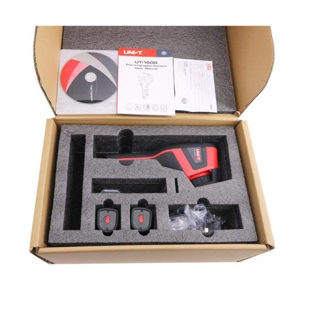 Uni T Uti160g Thermal Imager 50hz High Image New Zealand Hvac Tools
